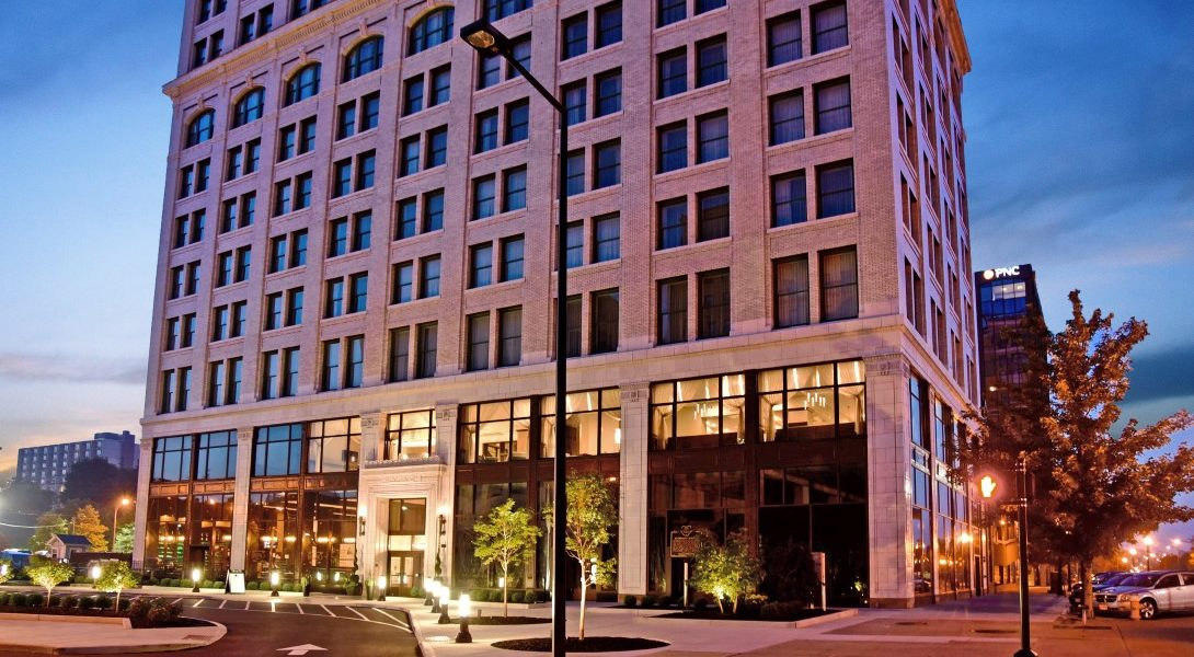 Stambaugh Building DoubleTree hotel
