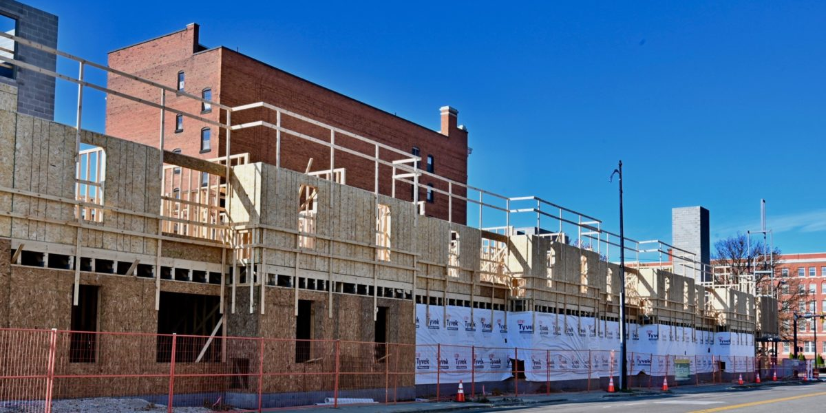 Campus Lofts Apartments at YSU Progressing